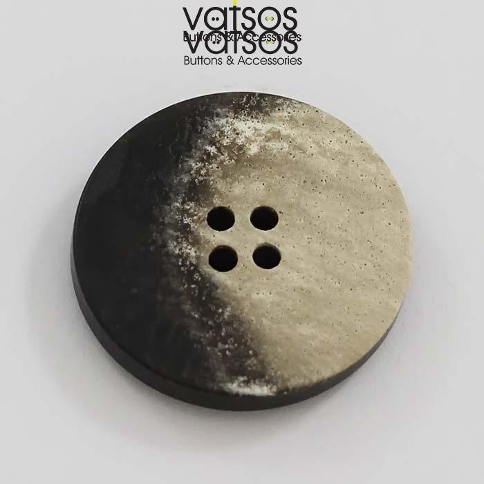Δίχρωμο πολυεστερικό κουμπί
