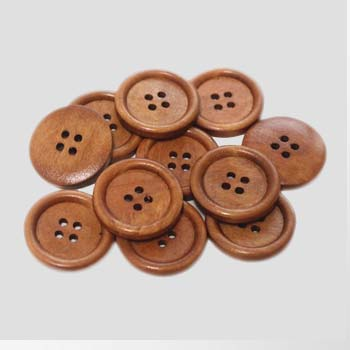 κουμπιά ξύλινα