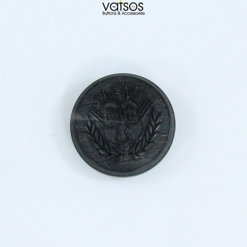 Πολυεστερικό κουμπί με οικόσημο