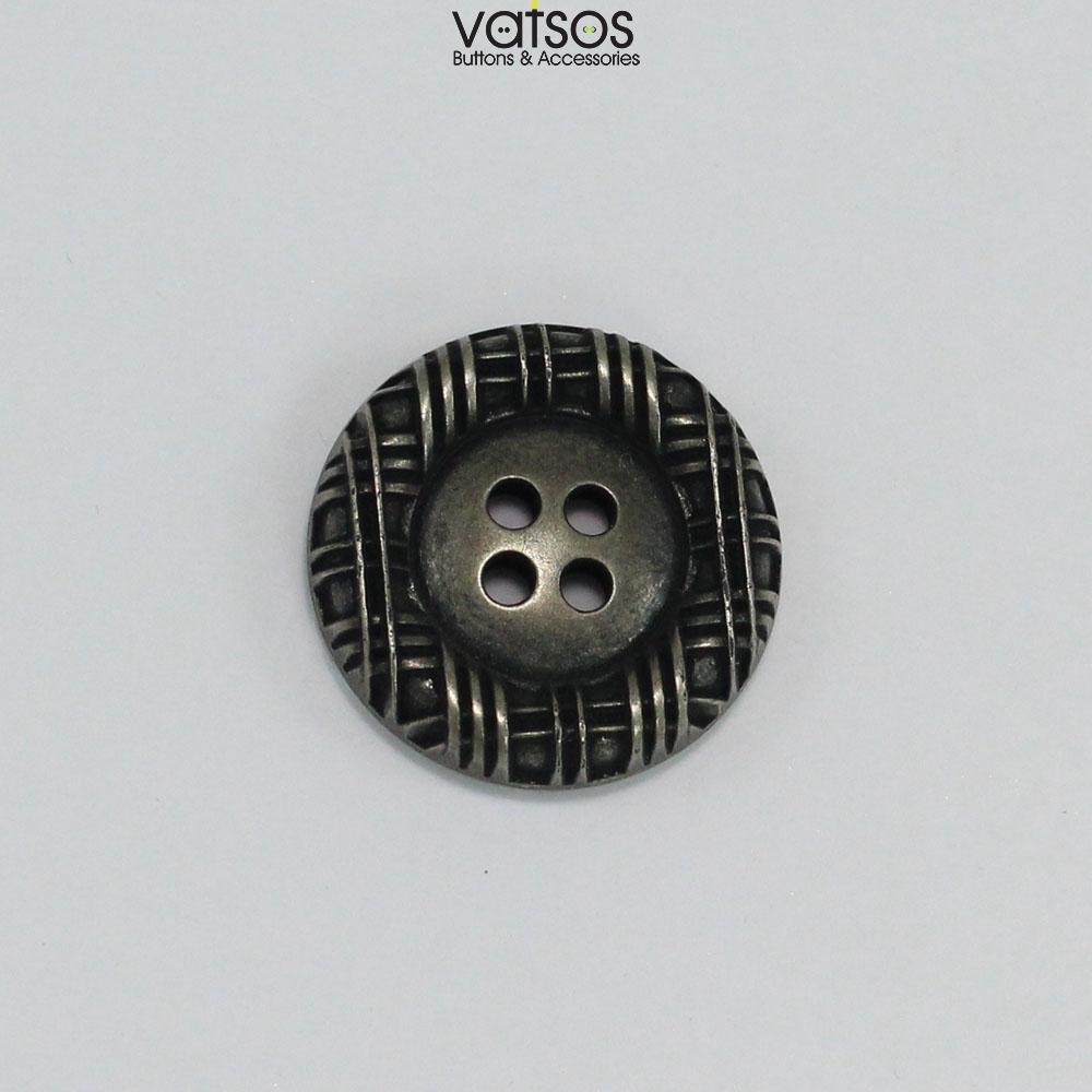 Πλαστικό κουμπί με ανάγλυφο σχέδιο