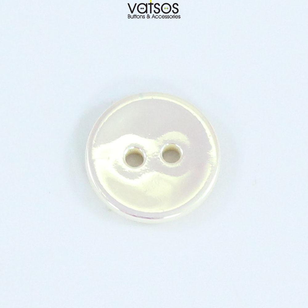 Πλαστικό κουμπί ιριδίζον