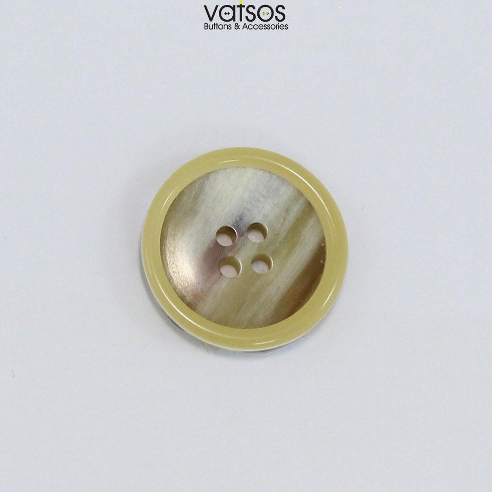 Πολυεστερικό κουμπί με νερά