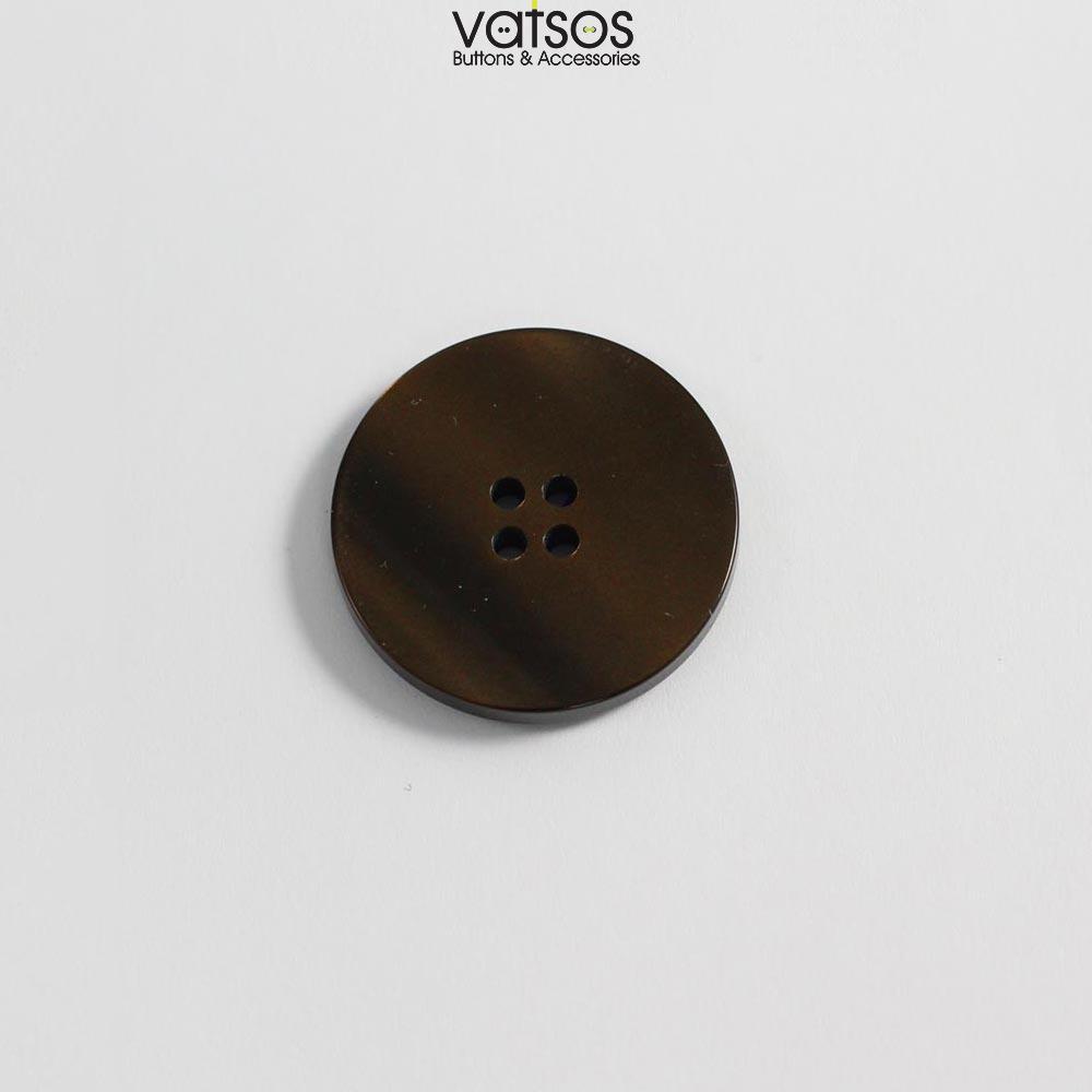 Πολυεστερικό κουμπί με φλάτ επιφάνεια