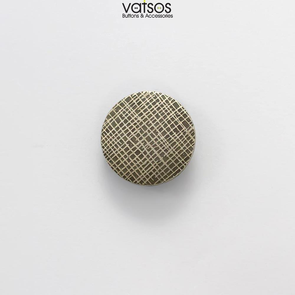 Πλαστικό κουμπί με σχέδιο γραμμές