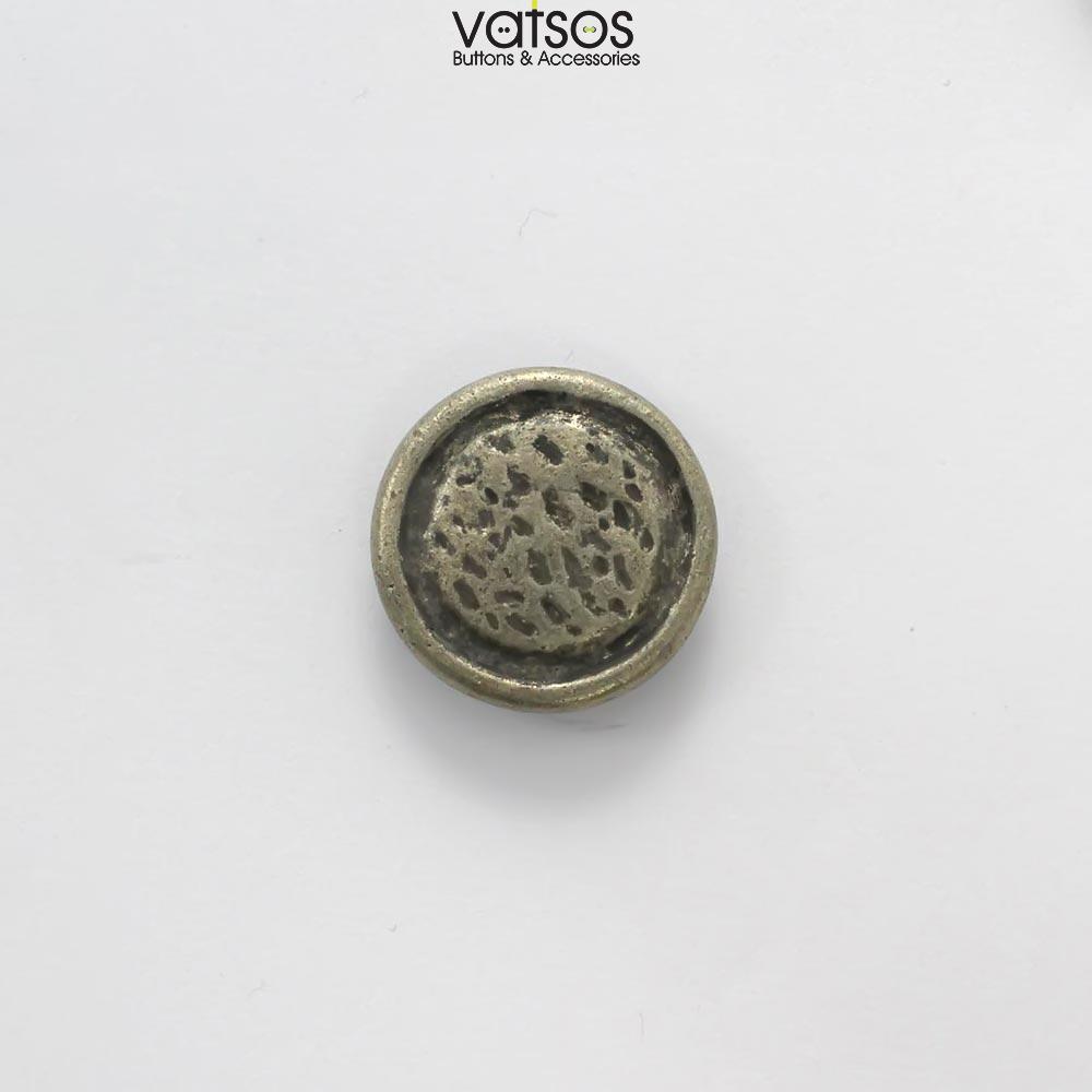Μεταλλικό κουμπί ανάγλυφο